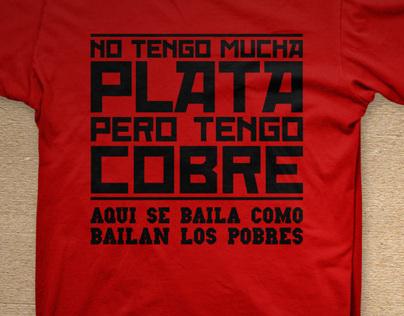 Calle 13 - Camiseta Pessoal
