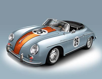 Porsche Speedster Icons