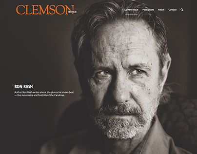 Clemson World magazine website