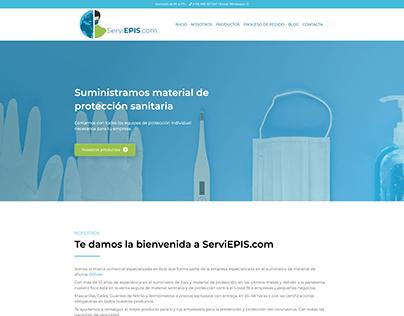 Diseño Web: ServiEpis.com