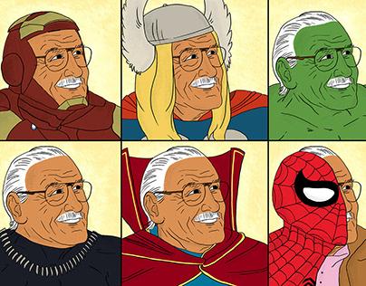 Excelsior! Stan Lee