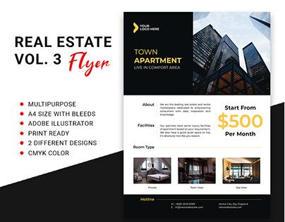 Real Estate Flyer Vol. 3