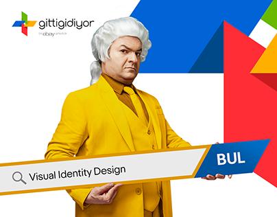 GittiGidiyor/ Visual Identity Design