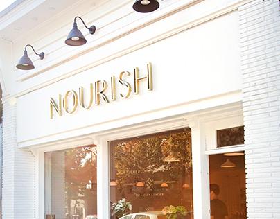 Nourish Cafe Experience Design & Branding