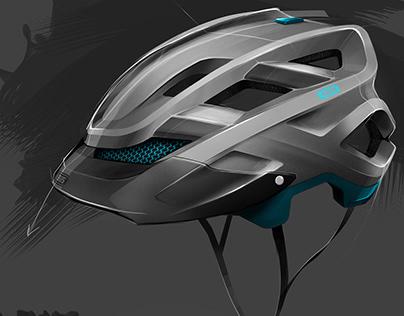 Kids bike helmet sketches