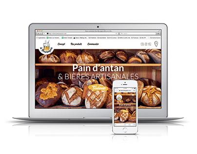 Web Design // La Brewlangerie