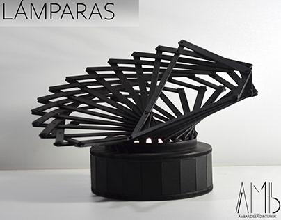 AMb / DISEÑO DE LÁMPARAS