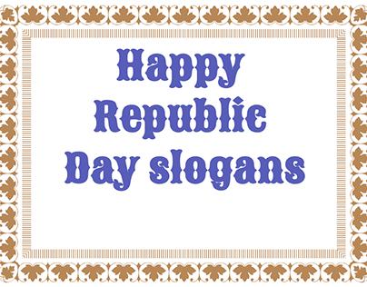 Happy Republic Day Slogans