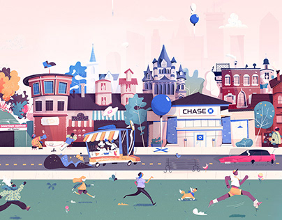 Chase Bank Mural - Boston