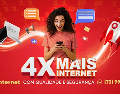 Balcão Promocional para provedor de Internet