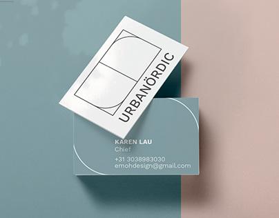 Urbanordic   Nordic Interior Design Shop   Branding