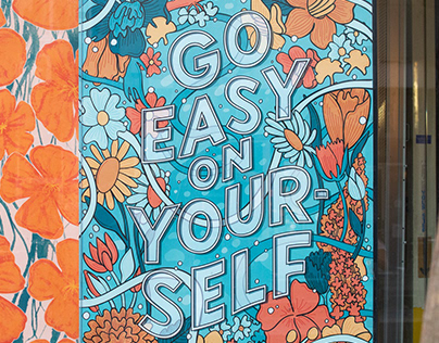 Go Easy on Yourself Poster