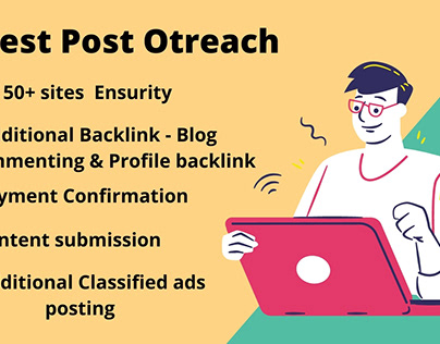 Professional Guest Post Blogger Outreach
