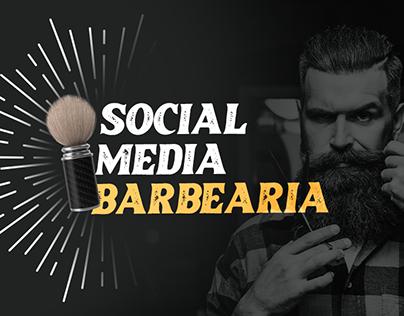 Social Media 2021 - Barbearia