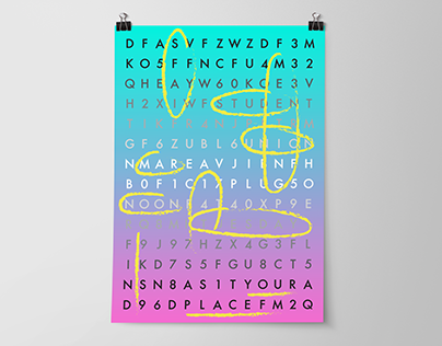 Poster Design for SFAI Student Union