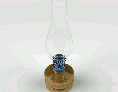 Old Oil Lamp for Roshni