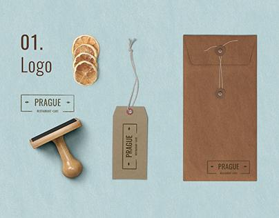 Prague Restaurant branding