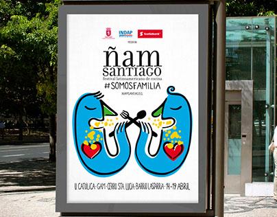 ÑAM Santiago, Festival Latinoamericano de Cocina 2015