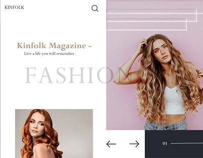 Fashion UI/UX