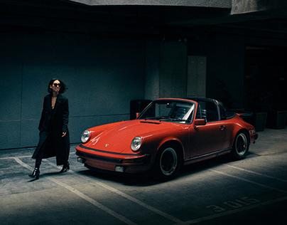 Porsche / Fashion Shoot.