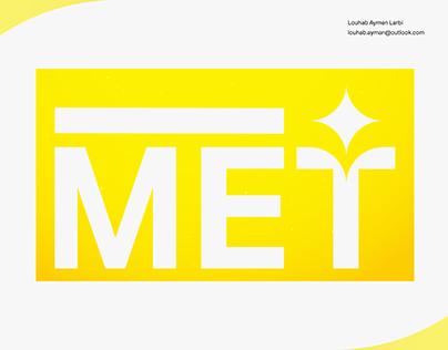i MET - Logo Design