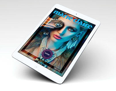 Marie Claire Magazine | Digital Publishing Suite