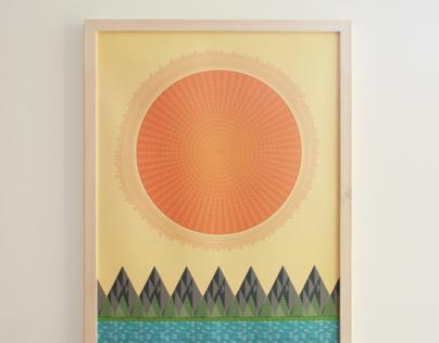 The Sun, It Shines. 2013 Calendar