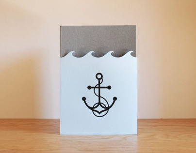 Screen-printed Nautical