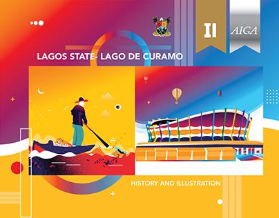 LAGOS | LAGO DE CURAMO ILLUSTRATION & HISTORY