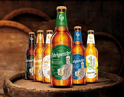 Edelmeister BeersPackshot renderings
