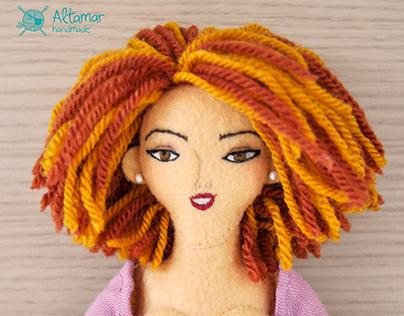 Beatrice.Handmade Custom Doll