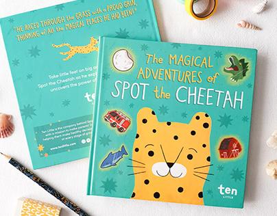 Spot the Cheetah, Children's Book