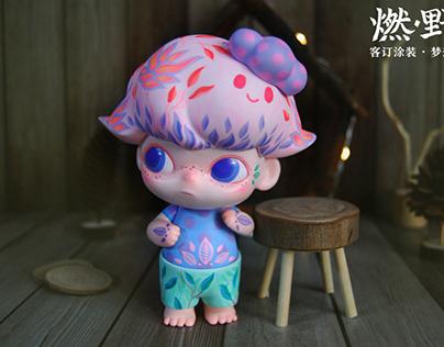 燃·野客订改娃涂装:梦想树-dimoo