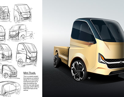 Tata Ace | restyling the next genration