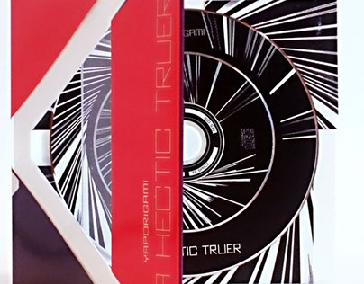 """FFS006 / CD / YAPORIGAMI - """"A Hectic Truer"""" / 2015"""