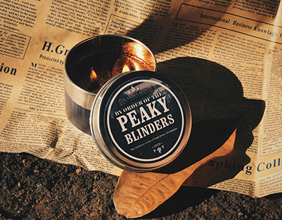 Peaky Blinders Scented Candle