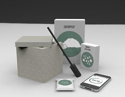 Square 1 Miniature Composting Kit
