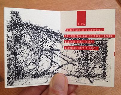 """""""Una foto"""" Publicación independiente, poema ilustrado"""