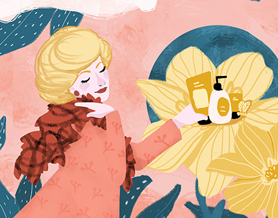Women's Power: Digital Illustrations of Famous Women