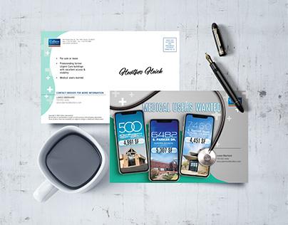 Commercial Real Estate Medical Postcard