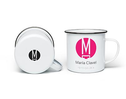 Diseño de Logotipoo María Clavel AC