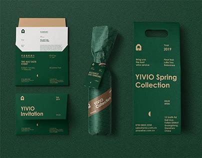 YIVIO Winehouse Branding