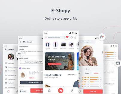 E-Shopy - Online Store App UI Kit