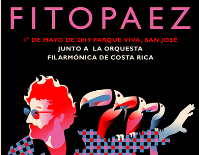 Fito Paez y la Orquesta Filarmónica de Costa Rica