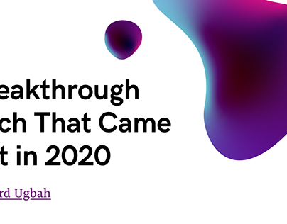 Breakthrough Tech That Came out in 2020