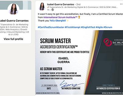 Scrum Institute Professional Scrum Master