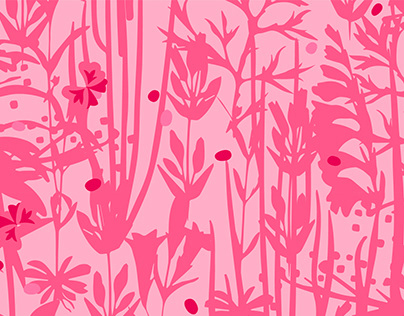 Pattern Design / Sketching Wild Plants