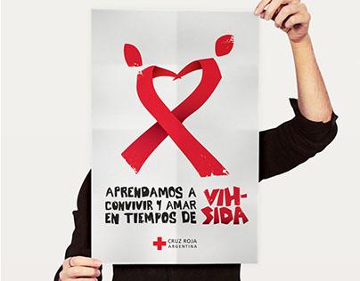 Cruz Roja Argentina, Logo y aplicaciones para campaña
