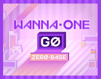 Wanna One GO : Zerobase Brand Design