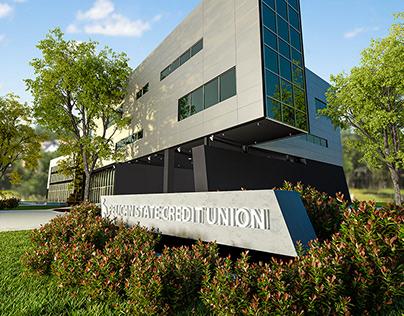 Corporate Campus 3D Visualization